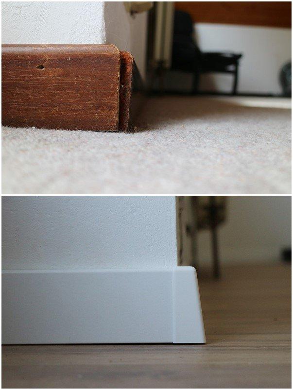 Kullakeks - Schlafzimmer - Vorher Nachher - Fußboden