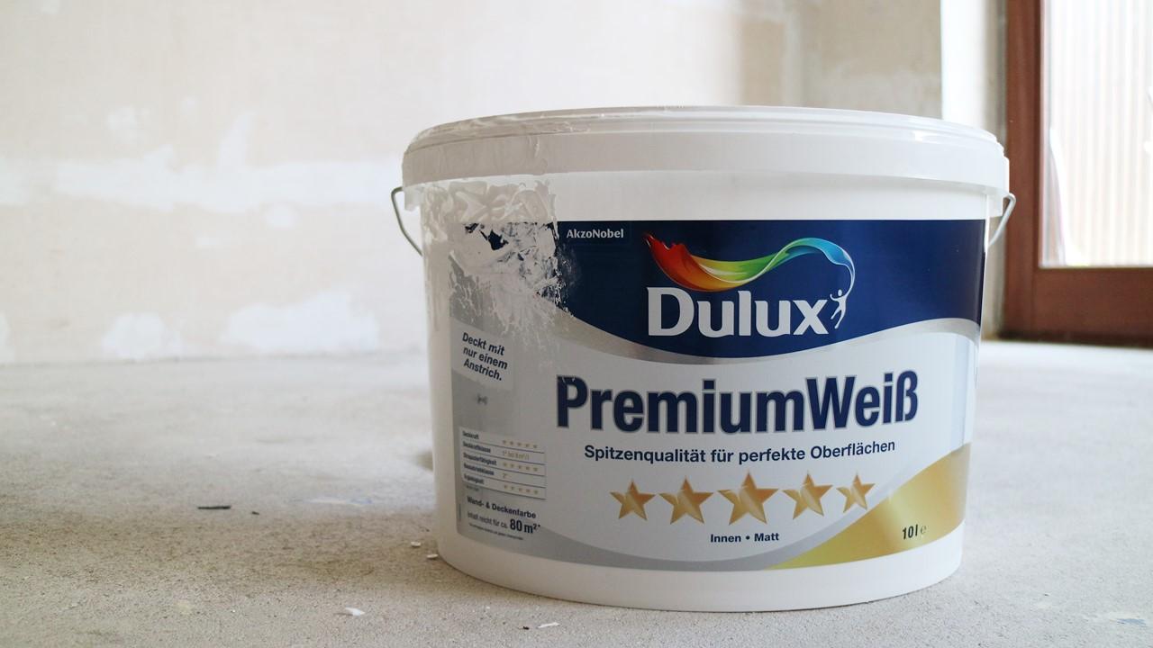 Kullakeks - Schlafzimmer - Wandfarbe - Dulux - Premiumweiß